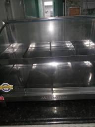 Estufa para lanches oito pratos
