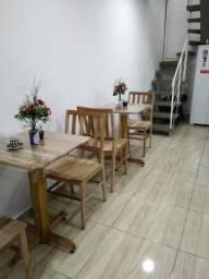 2 Mesas e 4 Cadeiras - Rústicos e Lindos
