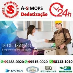 Comercial e Residencial Dedetização com Certificado