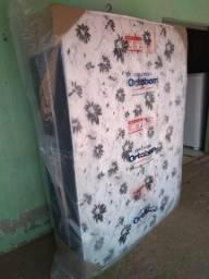 Cama box de casal de espumas Ortobom nova 991547255
