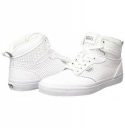 b44318b6185cb Tênis Vans Atwood Hi Perf Leather White Masculino