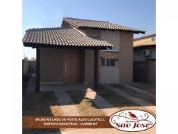 Casa à venda com 2 dormitórios em Distrito industrial, Cuiaba cod:23739