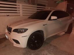 BMW X6 M 4.4 4×4 V8 32v 555 CV BI TURBOT. BRANCA 2011 Aceito carro de menor valor - 2011