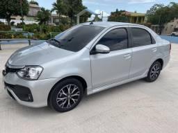 Toyota Etios Platinum 1.5 AUTOMÁTICO 2018 - 2018