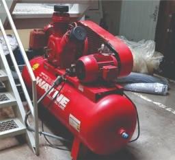 Compressor Wayne 10HP pouquíssimo uso