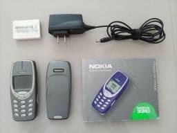 Celular Nokia 3310 clássico (Sucata)