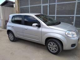 Fiat Uno Vivace 1.0, 4 portas, cor prata em perfeito estado - 2014