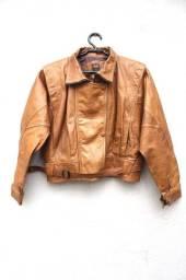 Lote de Jaquetas de Couro Estilo Vintage Retrô