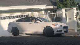 Ford Fusion titanium awd 2.0 turbo 2013 branco com Teto