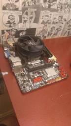 Kit placa mãe + I3 3.3ghz + 6 GB de RAM