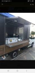 Baú alumínio- food truck