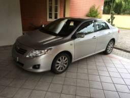 Toyota Corolla Altis 2011 Flex 2.0 Automático. Cor Prata