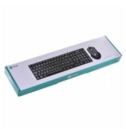 Combo Teclado E Mouse Usb Corp Abnt2/1200dpi