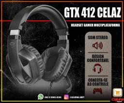 Headset Gamer Trust Gxt 412 Celaz t10sd11sd20