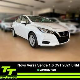 Novo Versa Sense 1.6 CVT 2021 0km