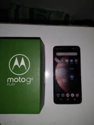 Moto G8 play 64gb tá semi novo 800,00 pra vender logo tem a Caixa