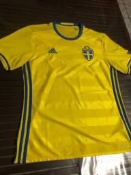 Título do anúncio: Camisa Adidas Suécia 2019 home - Tamanho M