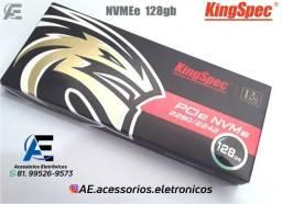 Título do anúncio: SSD m2 128gb, 256gb, 512gb e 1Tb NVMe PCIe KingSpec - Entregamos e Aceitamos Cartões