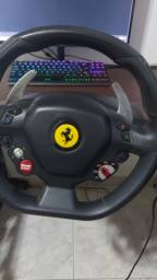 Volante thrustmaster Ferrari 458 edit xbox e PC