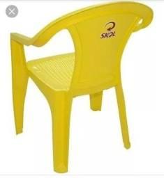 Vendo cadeiras plástica Tramontina