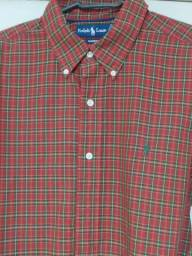 Camisas Lacoste e Ralph Lauren originais
