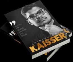 FAÇO ENTREGA, Livro: Nunca foi sorte sempre foi Deus de Shirleysson Kaisser