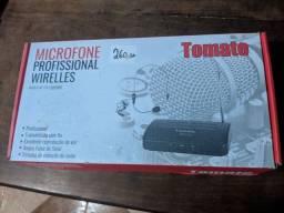 Microfone Sem Fio Lapela e Headset Profissional wirelles<br><br>
