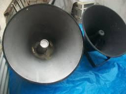 Título do anúncio: 4 cornetas antigas de som