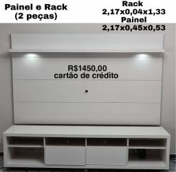Título do anúncio: Rack e Painel