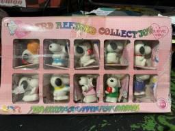 Coleção 10 miniaturas Snoopy