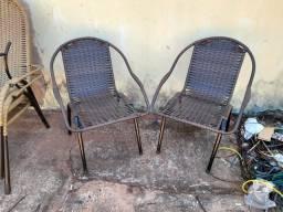 Cadeiras de junco sintético
