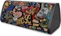 Caixa de som Mifa A10 10w Resistente A Água Lacrado Black Grafitti Envio imediato