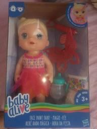 Baby alive pintura mágica nova, na caixa