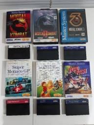 Jogos originais de Sega Master System