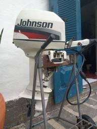 Motor de popa 2 tempos a gasolina Johnson 8HP