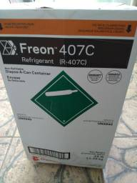 Gás 407 para ar condicionado