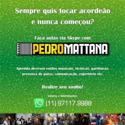 Aulas de Acordeão - Sanfona - Acordeon - Florianópolis