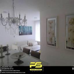Apartamento com 3 dormitórios à venda, 76 m² por R$ 250.000 - Portal do Sol - João Pessoa/