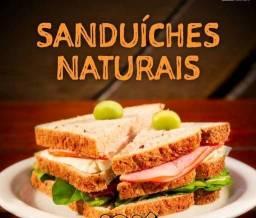Sanduiches naturais