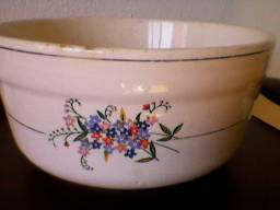 Tijela ceramica rústica anos 60. 20 cm