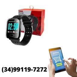 Título do anúncio: Relógio Smart Bracelet Batimentos Calorias Bluetooth WhatsApp
