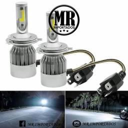 Lampada de LED Automotiva H4/H3 6000k Para Farol Alto/baixo ( entregamos).