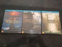 Trilogia O Senhor dos Anéis. Blu-ray. Lacrado/novo