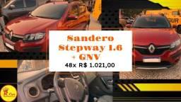 Sandero Stepway 1.6 2017 + GNV