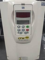 Título do anúncio: Inversor de frequência cfw09 10 cv 220 volts