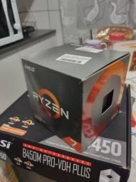 Título do anúncio: Kit Ryzen 7 3800x mais 16gb ram e placa mãe msi b450 pro