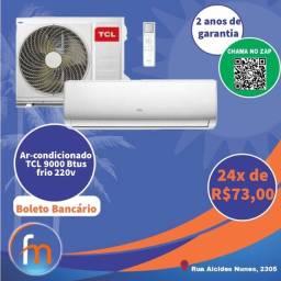 Ar-condicionado boleto bancário
