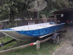 Barco de alumínio 5 mts