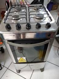 Vendo fogão inox elétrico