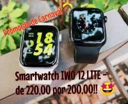 Relógio IWO12 Lite (SmartWatch Android e IOS) Frete Grátis! Poucas Unidades!